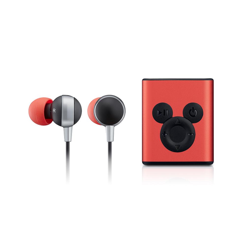 InfoThink|米奇系列藍牙耳機(90周年紀念款)-魔力紅