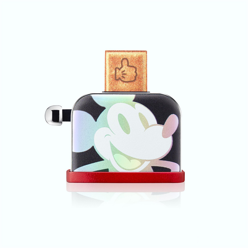InfoThink 米奇系列烤吐司機造型隨身碟(幻彩鐳射)-32GB