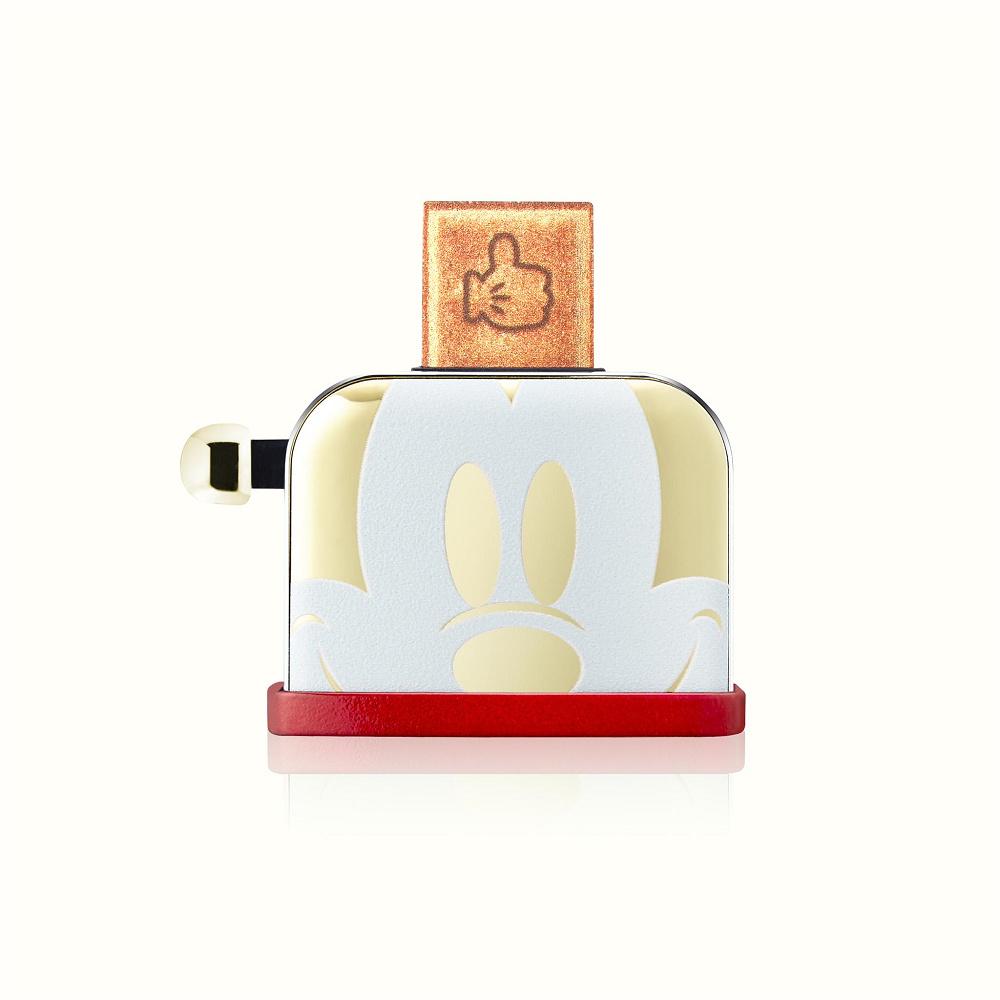InfoThink 米奇系列烤吐司機造型隨身碟(90周年紀念金色款)-32GB