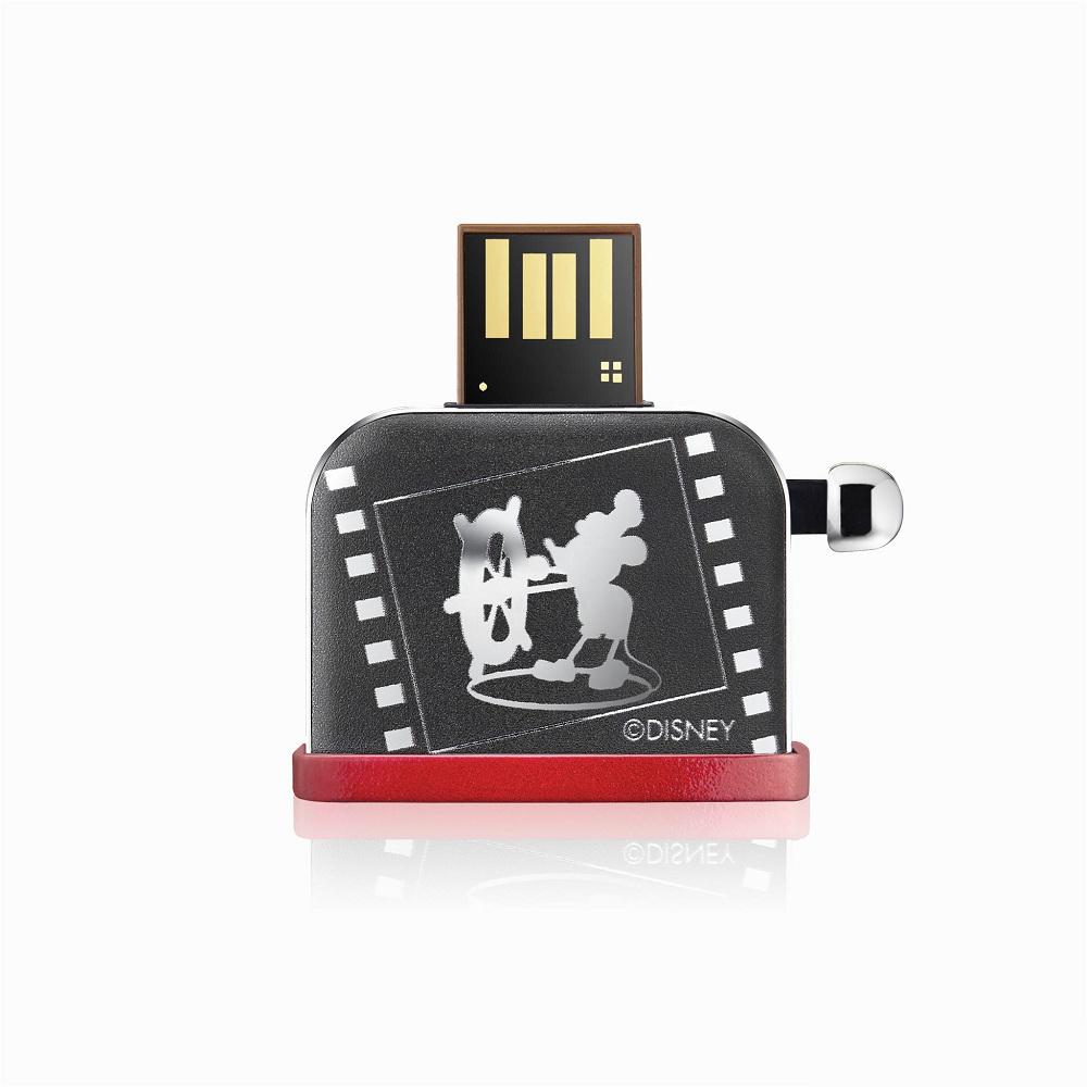 InfoThink|米奇系列烤吐司機造型隨身碟(銀色款)-32GB