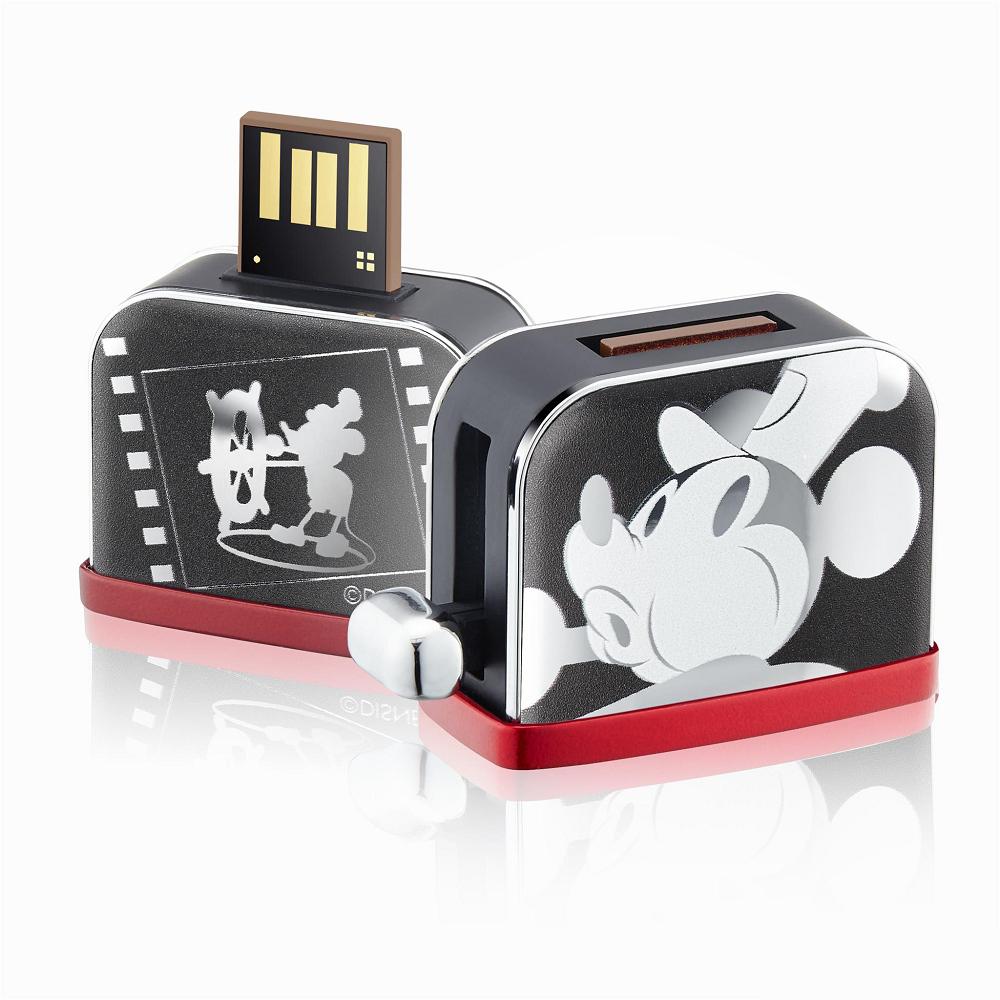 InfoThink|米奇系列烤吐司機造型隨身碟(銀色款)-16GB