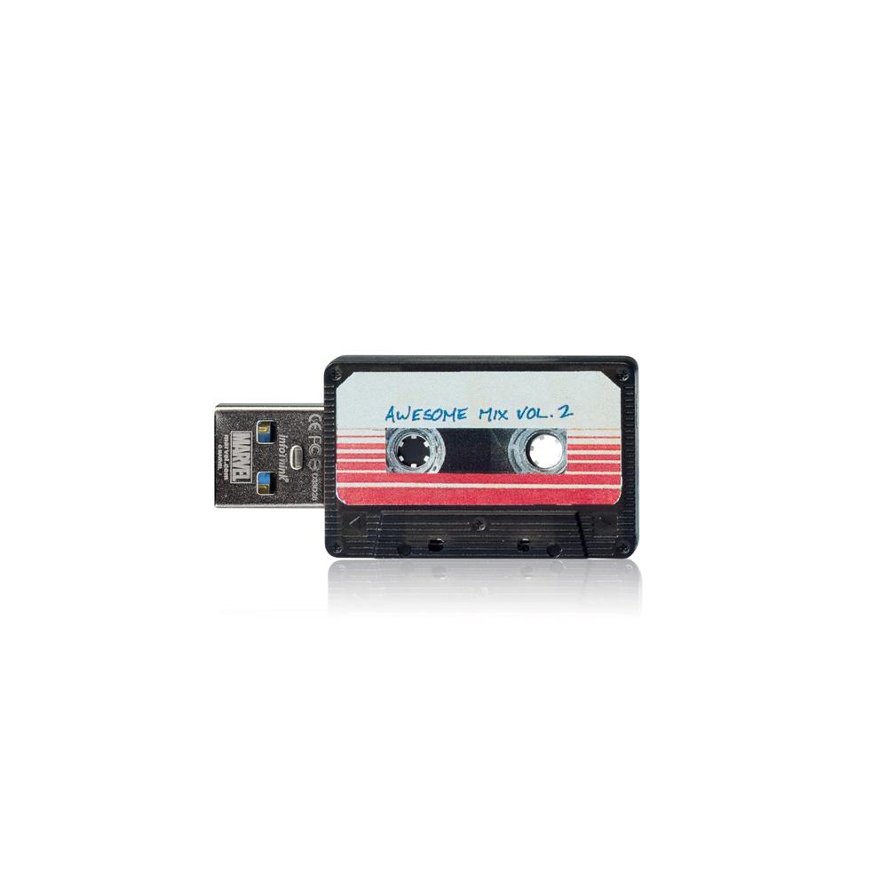 InfoThink 星際異攻隊錄音帶OTG雙頭隨身碟-16GB