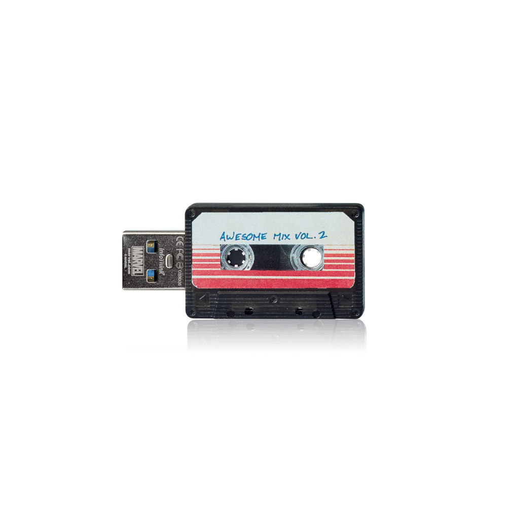 InfoThink|星際異攻隊錄音帶OTG雙頭隨身碟-8GB