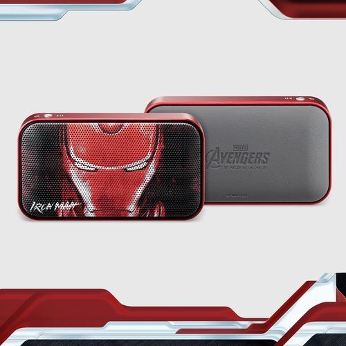 【ENDGAME限定】InfoThink|MARVEL復仇者聯盟系列隨身藍牙喇叭-鋼鐵人