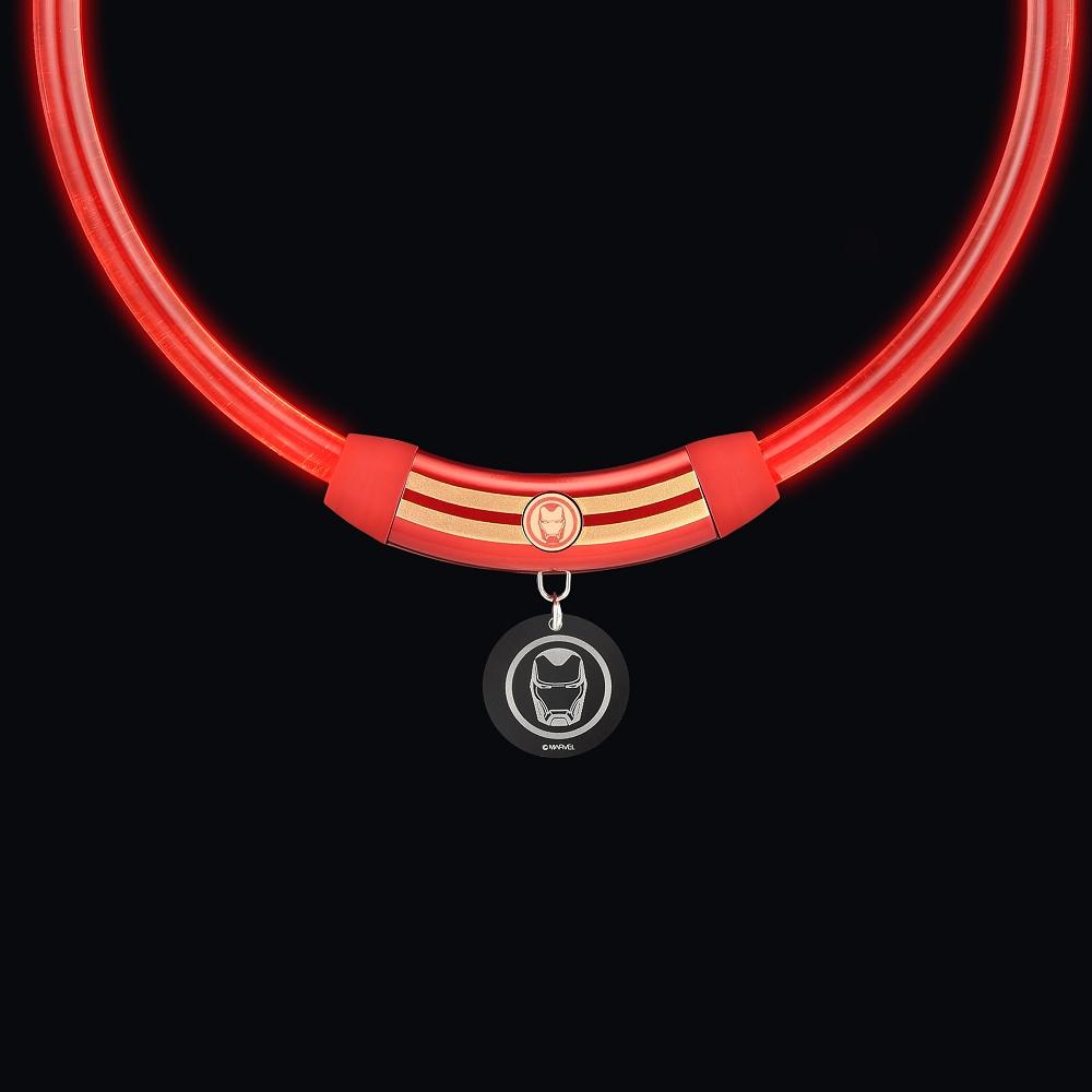 InfoThink|MARVEL復仇者聯盟寵物LED項圈-鋼鐵人