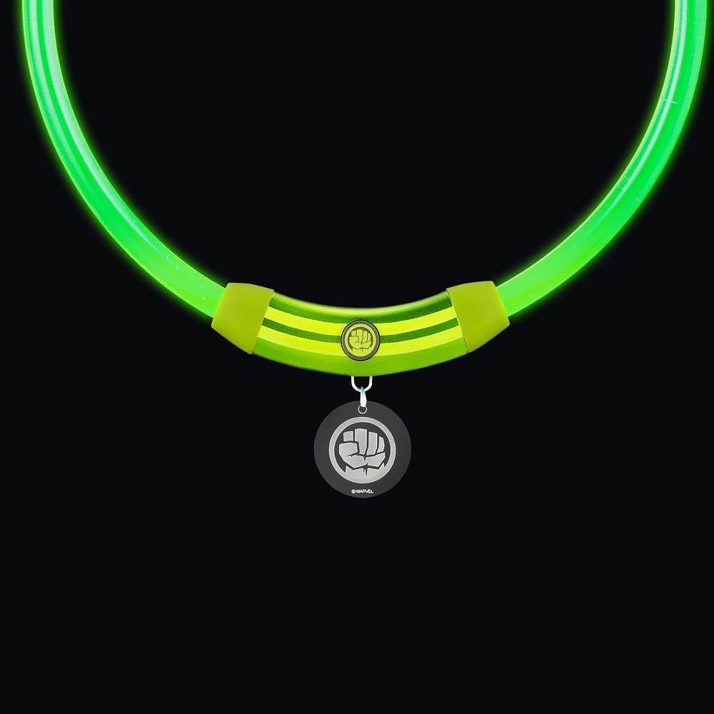 InfoThink|MARVEL復仇者聯盟寵物LED項圈-浩克