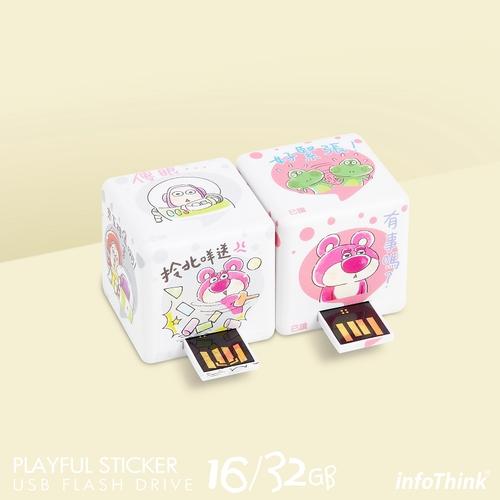 InfoThink|迪士尼玩具總動員系列轉轉貼圖隨身碟-32GB