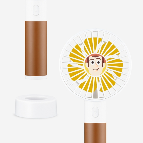 InfoThink|迪士尼玩具總動員系列行動x桌上兩用風扇-胡迪