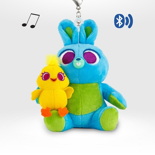 InfoThink|迪士尼玩具總動員系列絨毛藍牙喇叭-鴨霸與兔崽子