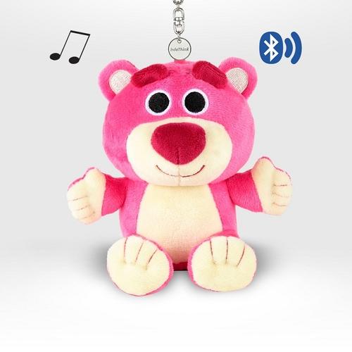InfoThink|迪士尼玩具總動員系列絨毛藍牙喇叭-熊抱哥