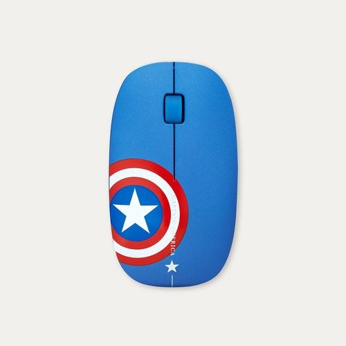 InfoThink 漫威復仇者聯盟系列無線光學靜音滑鼠(美國隊長)