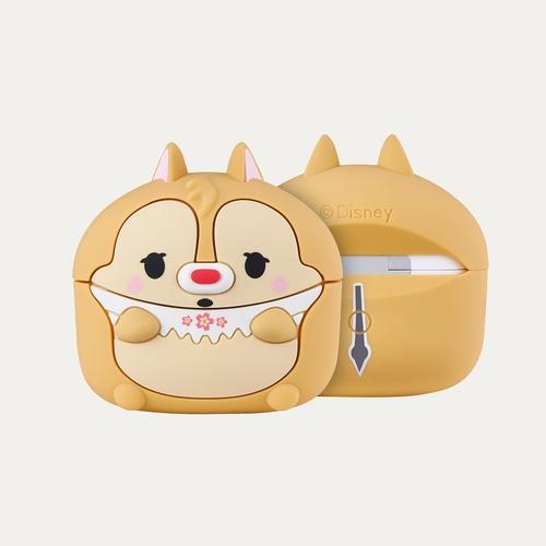 InfoThink|迪士尼櫻花季無線耳機造型保護套for AirPods Pro(蒂蒂)