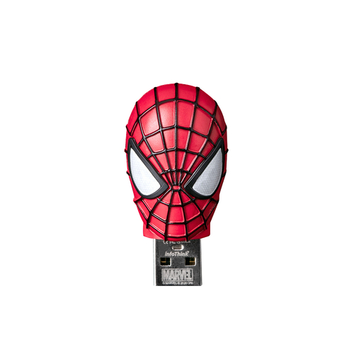 InfoThink|漫威蜘蛛人系列鋅合金造型隨身碟(16GB)