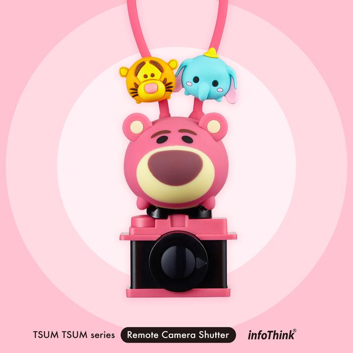 (複製)InfoThink|迪士尼TSUM TSUM藍牙遙控自拍器-大眼仔