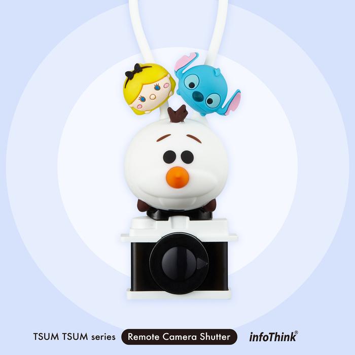 (複製)InfoThink|迪士尼TSUM TSUM藍牙遙控自拍器-熊抱哥