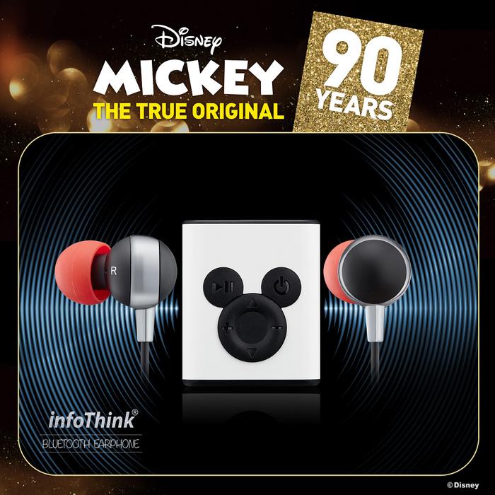 (複製)InfoThink 米奇系列藍牙耳機(90周年紀念款)-魔力紅