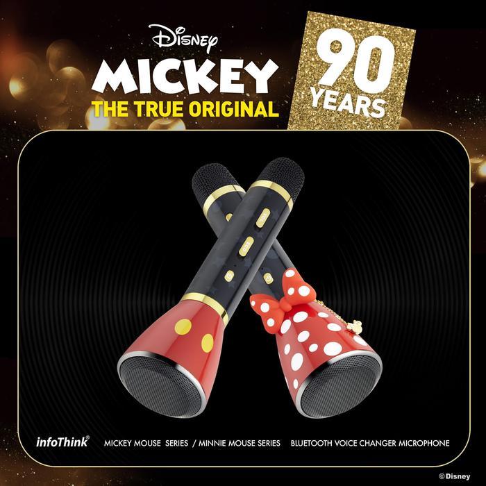 (複製)InfoThink|米奇系列變音無線藍牙麥克風(90周年紀念款)