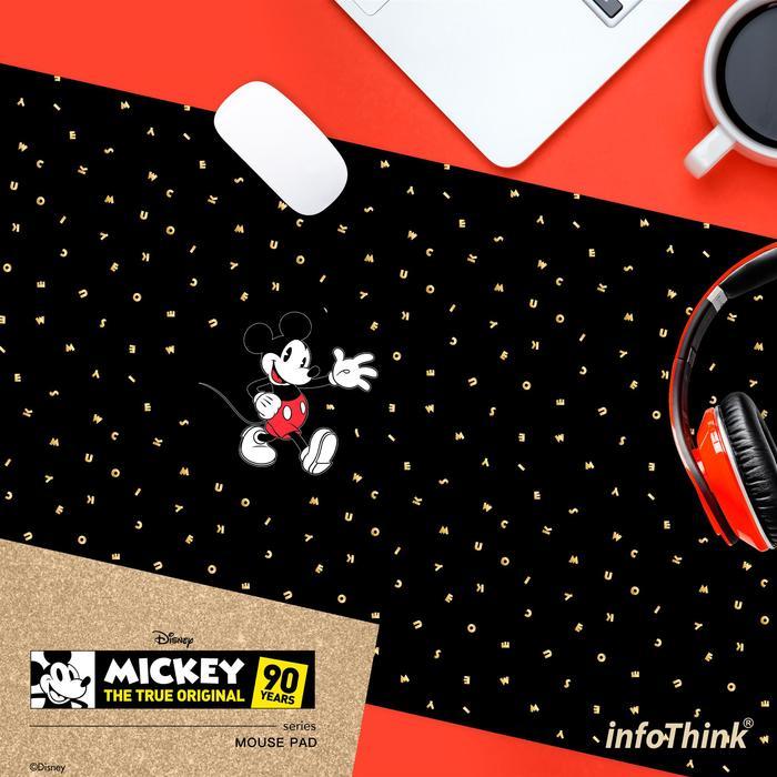 (複製)InfoThink|米奇系列滑鼠墊/桌墊(90周年限量款)-復古