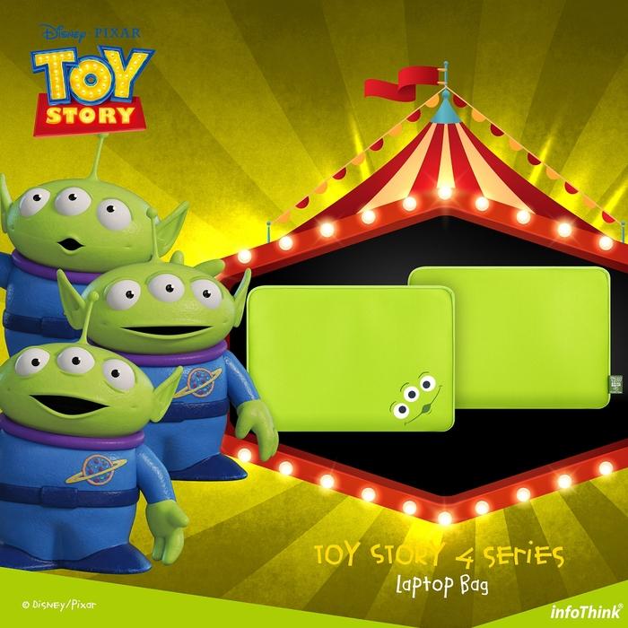 InfoThink|迪士尼玩具總動員系列筆電包-三眼