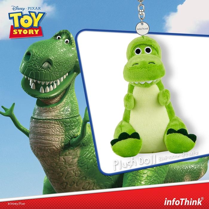 (複製)InfoThink 迪士尼玩具總動員系列絨毛藍牙喇叭-三眼