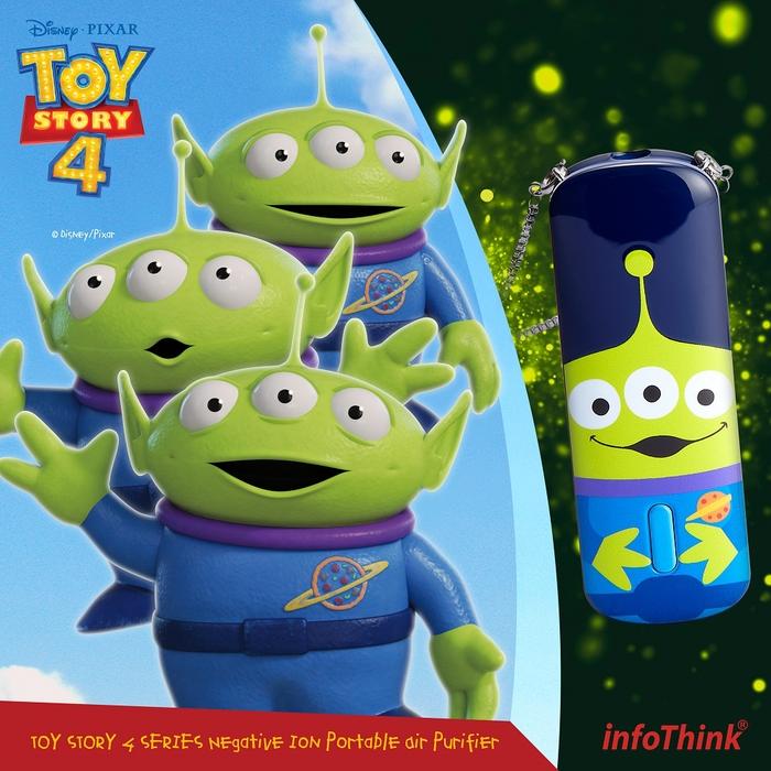 InfoThink 隨身淨系列|迪士尼玩具總動員系列隨身負離子空氣清淨機-三眼怪