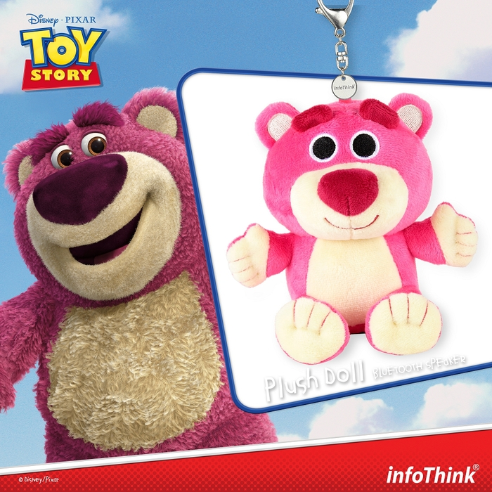 (複製)InfoThink|迪士尼玩具總動員系列絨毛藍牙喇叭-胡迪
