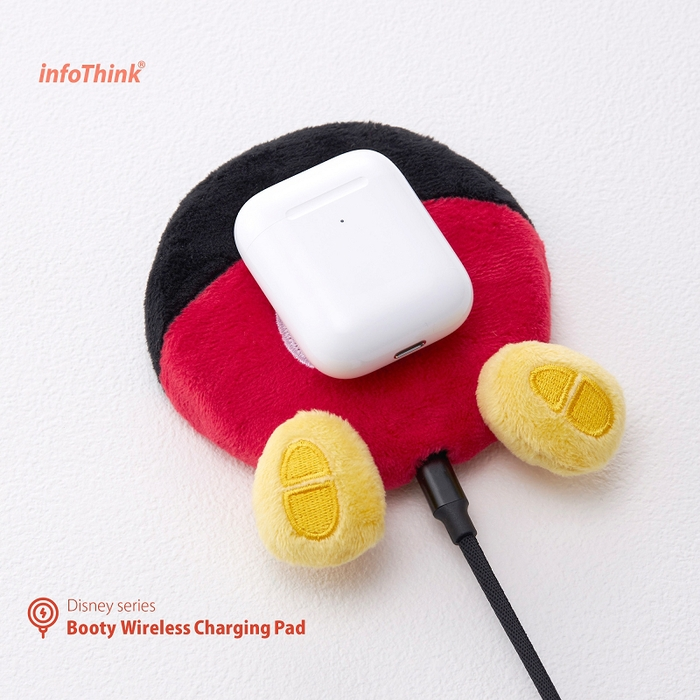 InfoThink|迪士尼系列電臀無線充電座(米奇)