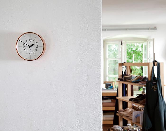 (複製)Lemnos|草皮時鐘-橘色