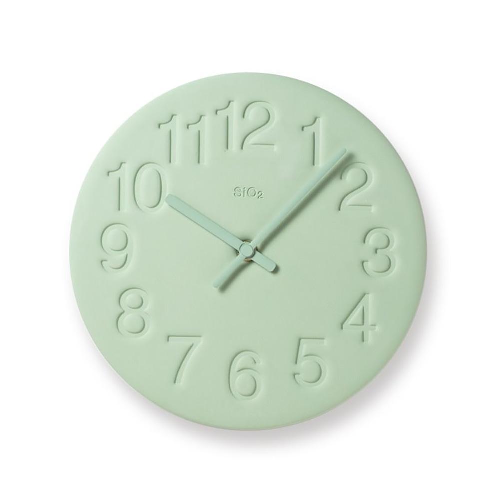 (複製)Lemnos|珪藻土時鐘-粉紅色