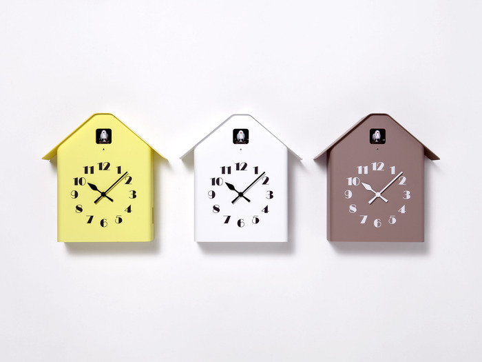 (複製)Lemnos 房型布穀鳥時鐘-褐色