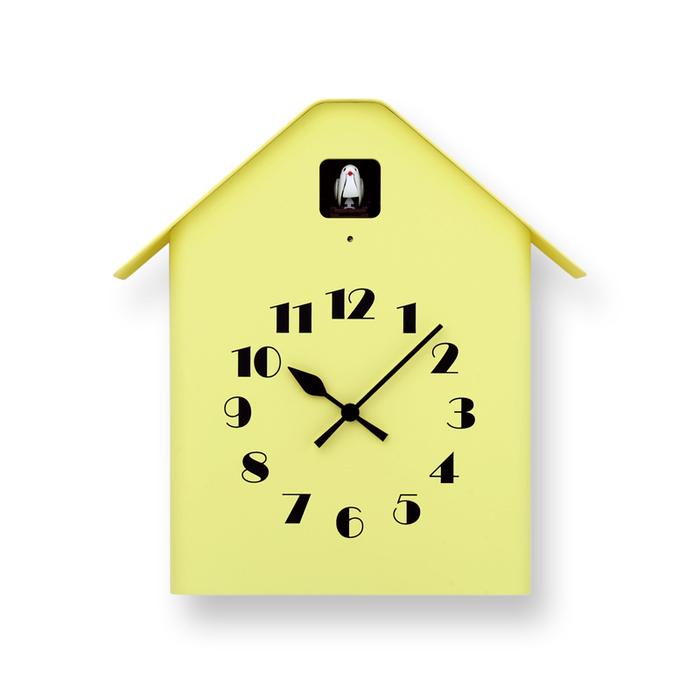 (複製)Lemnos|房型布穀鳥時鐘-白色