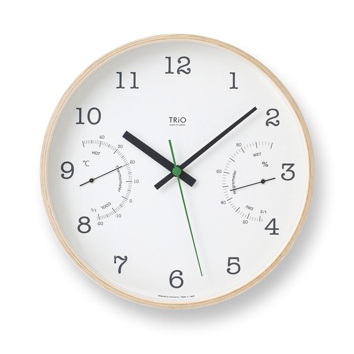 (複製)Lemnos|渡邊力圓型小鬧鐘-深褐色
