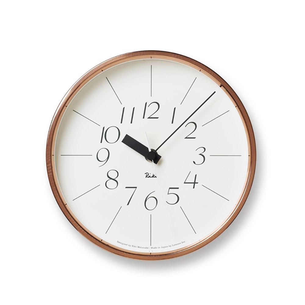 Lemnos|渡邊力純銅時鐘