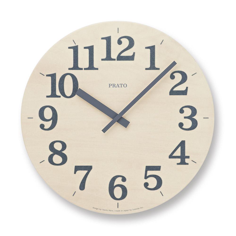 Lemnos|草皮時鐘-灰色