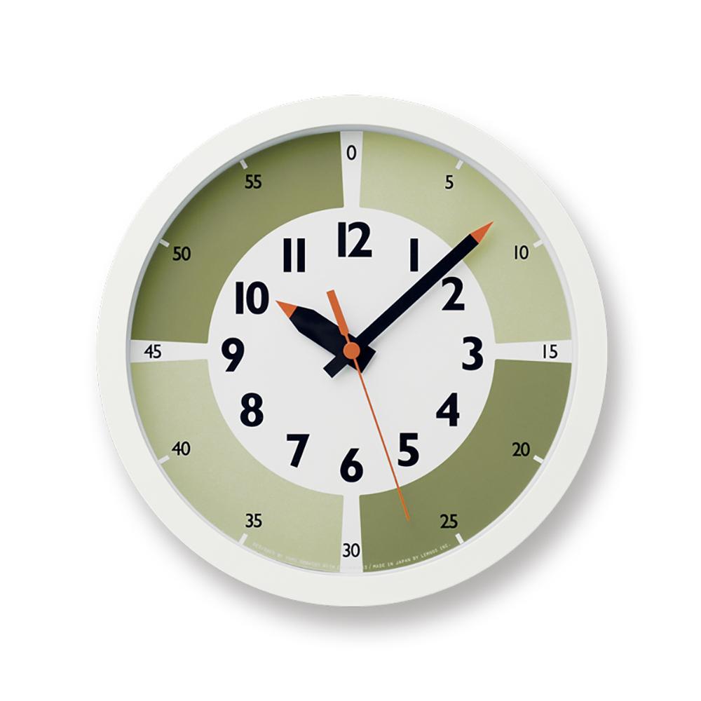 Lemnos|彩色分分學習時鐘-綠色