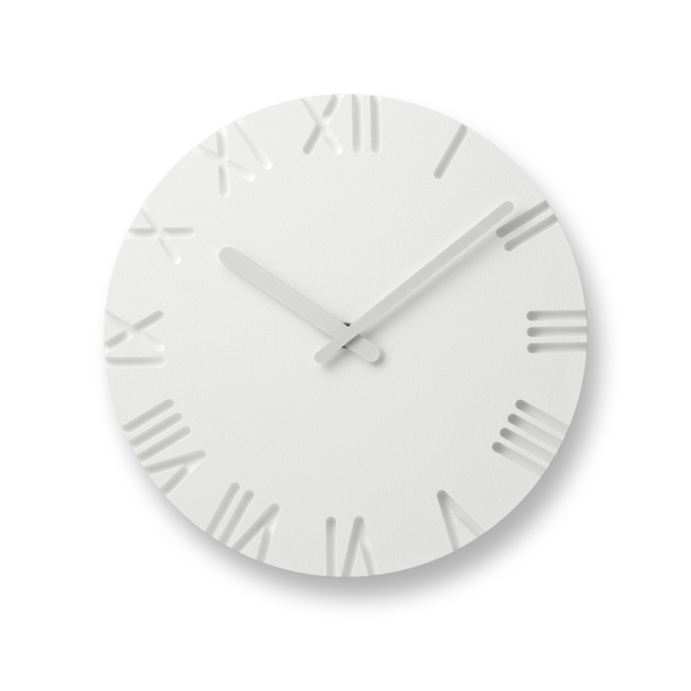 Lemnos|雕刻時鐘-羅馬數字款