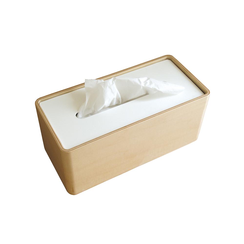 Lemnos|木質面紙盒-白色