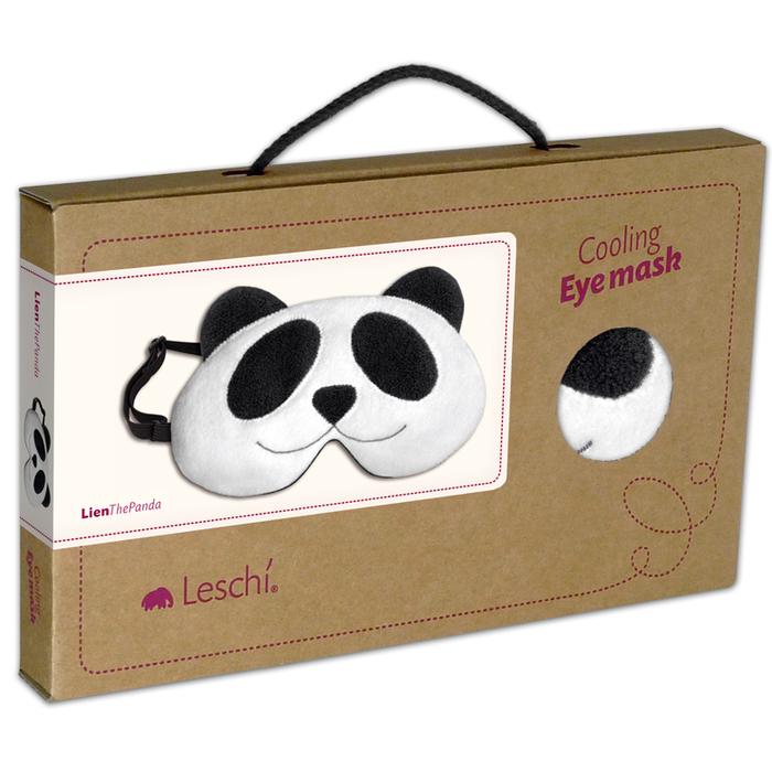 德國萊思綺Leschi舒緩疲勞熱敷/冷敷眼罩- 貓熊造型