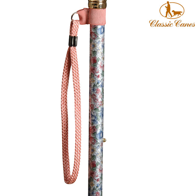 (複製)英國Classic Canes│手腕環扣繩 - 粉紫色