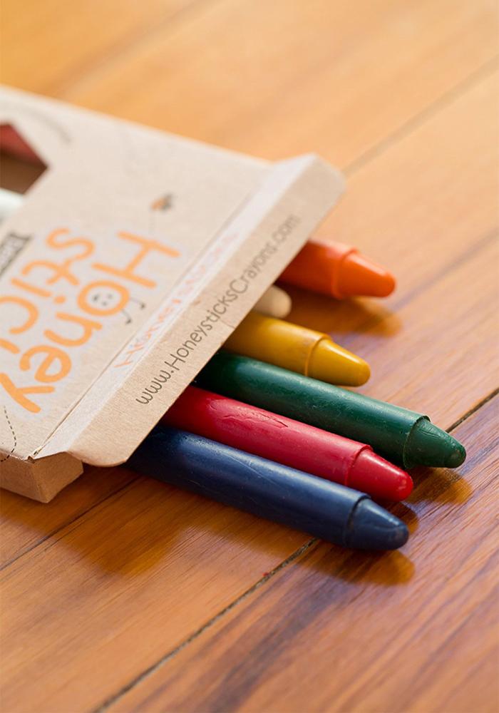(複製)(複製)紐西蘭Honey Sticks Crayons│純天然蜂蠟無毒蠟筆 (胖長款)
