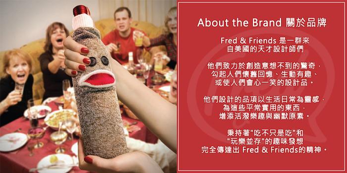 Fred & Friends | CHILL,BABY 鬍子造型嬰兒奶嘴