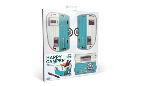 Fred & Friends | Happy Camper 經典露營車造型筆筒