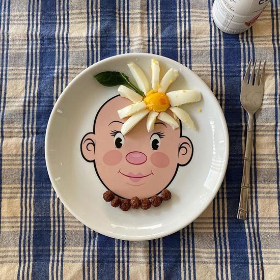 (複製)Fred & Friends Food Face 臉盤食物大作戰 (男臉)