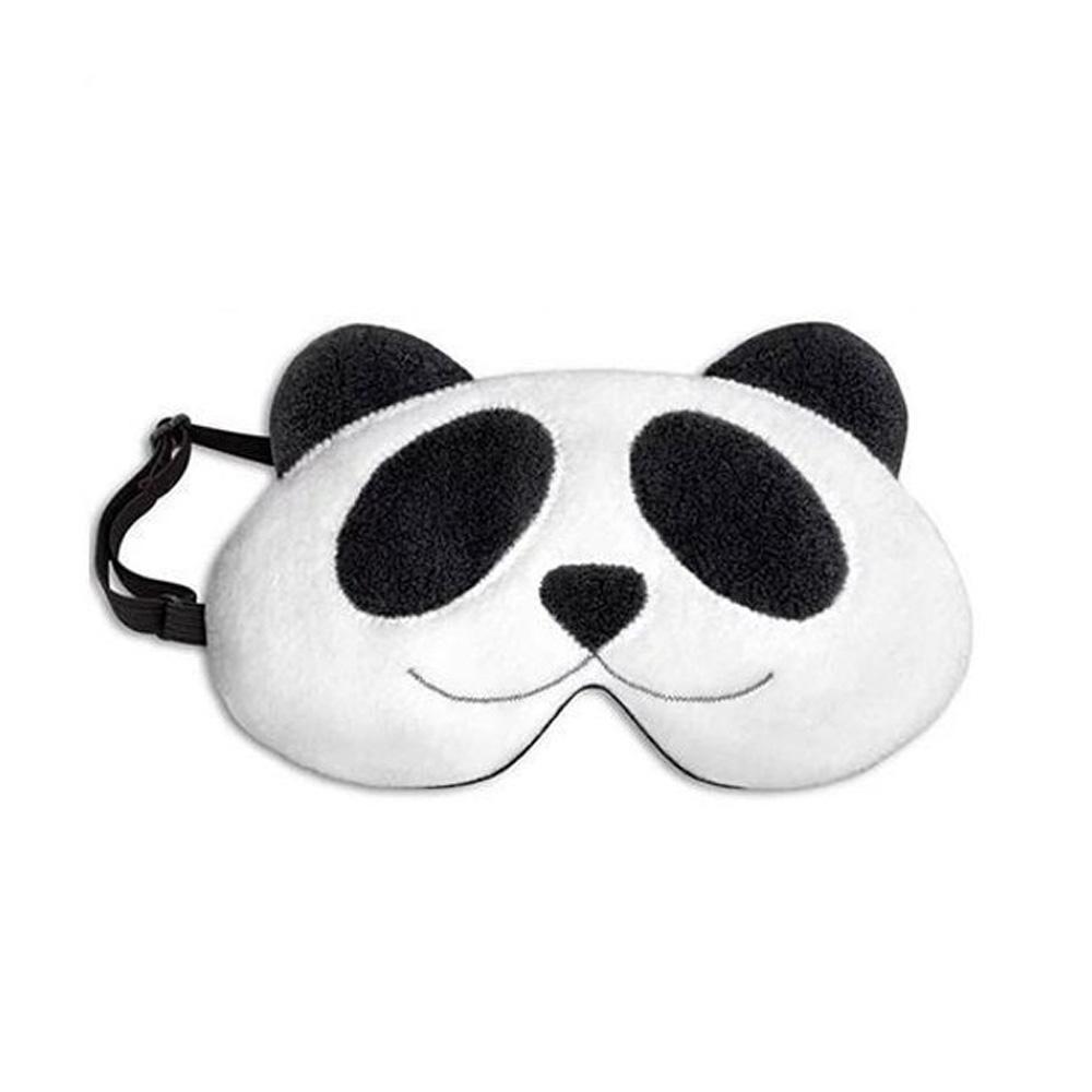德國萊思綺Leschi|舒緩疲勞熱敷/冷敷眼罩(貓熊造型)