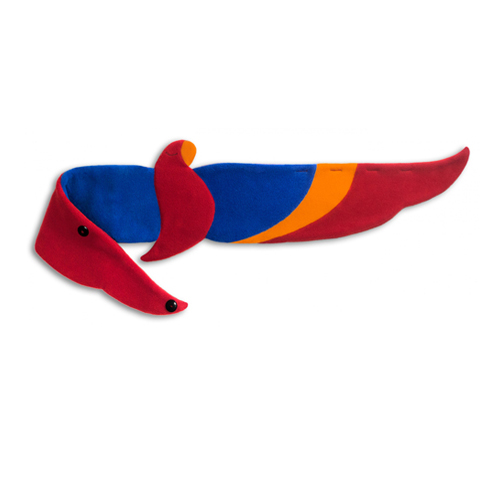 德國萊思綺Leschi 後背暖腰帶- 鸚鵡造型