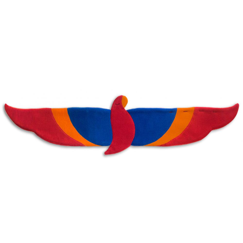 德國萊思綺Leschi|後背暖腰帶- 鸚鵡造型