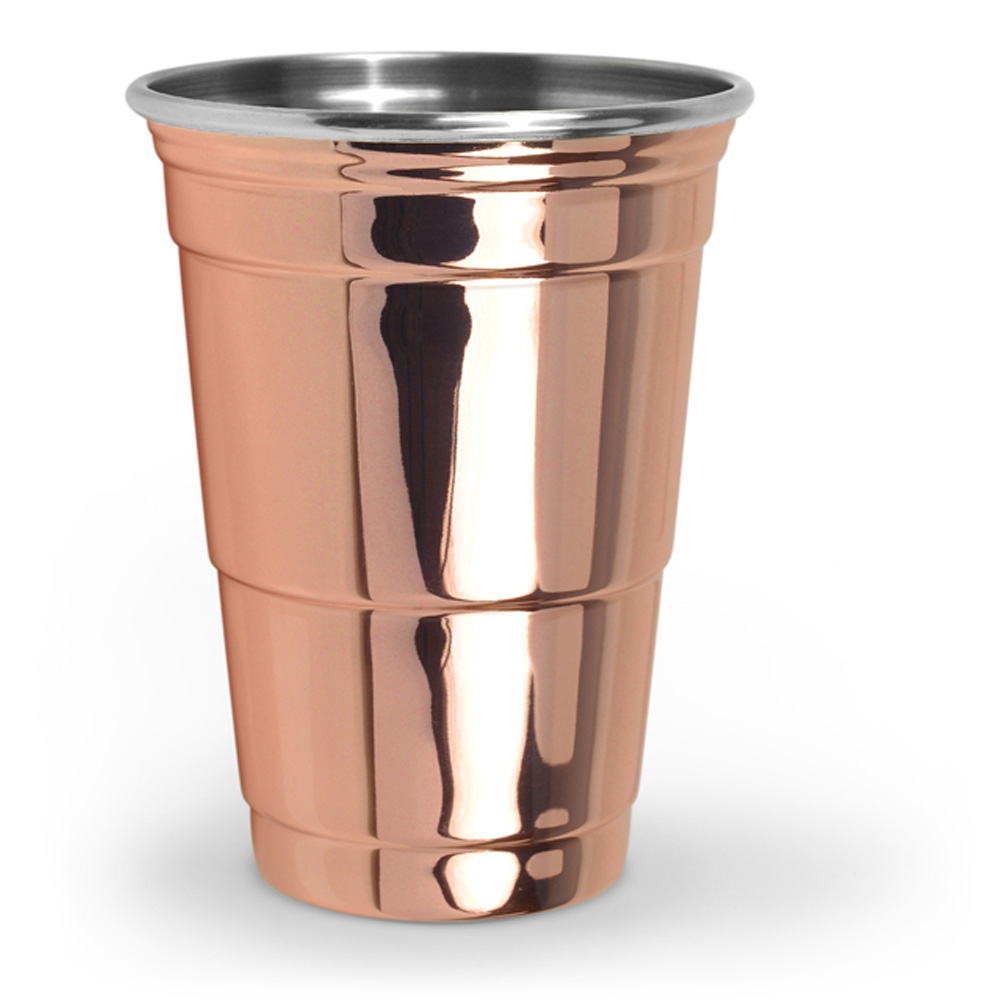 Fred & Friends The Copper Party Cup 美國經典派對杯- 玫瑰金