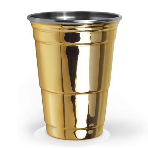 Fred & Friends   The Copper Party Cup 美國經典派對杯-金色