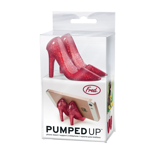 Fred & Friends | Pumped Up 高跟鞋造型手機站立架