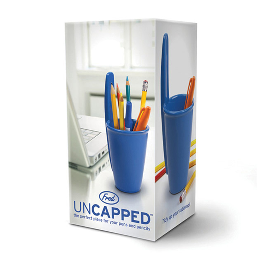 Fred & Friends|Uncapped  原子筆蓋造型筆筒